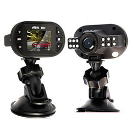 Gps Hd Canada - Free Shipping! Newest Mini Size HD 1920*1080P 12 IR LED Car Vehicle CAM Video Dash Camera C600 Recorder Russian Car DVR