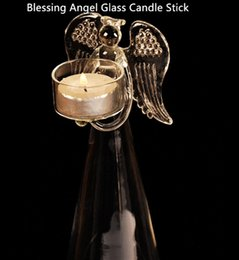$enCountryForm.capitalKeyWord Canada - Wholesale Fashional Design for Home Decorative and Blessing Angel Candle Holder with Size Dia8.3cm x Height 24cm