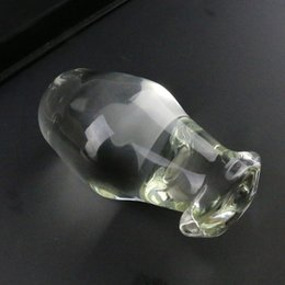 $enCountryForm.capitalKeyWord NZ - Super Size Adult Sexy Crystal Glass G Spot Dongs Stimulate membranously female utensils masturbation Dildos Penis Anal Plug Butt Toy