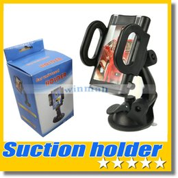 Wholesale Universal Degree Rotation Suction Cup Car Windshield Mobile Phone Holder Bracket Mount for Cell phone GPS Mount