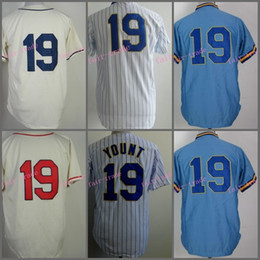 1329c9bbd ... discount code for robin yount jersey 1982 retro blue white pinstripe milwaukee  brewers jerseys throwback discount