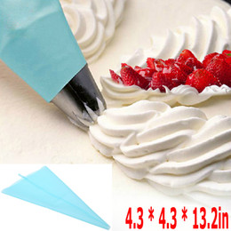 Ingrosso Riutilizzabile Cream Pastry Bag Cake Biscuit Cookies Glassa Piping Decorating Tools Strumenti di cottura al silicone Cucina Accessori da cucina, dandys