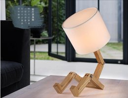 Modern wood lamp shades online shopping modern wood lamp shades modern wooden lamps man shade table lamps for bedroom study room fabric lamps shade dia 200mm h 180mm free shipping mozeypictures Gallery