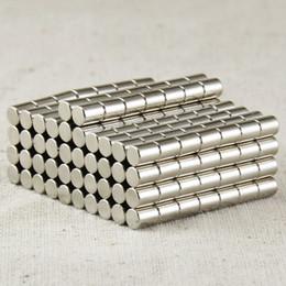 Neodymium Disc Magnets NZ - 100pcs lot D4X5mm Neodymium Disc Super Strong Rare Earth N35 Small Fridge Magnets N35 magnets NdFeB magnets