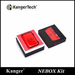 Discount kangertech subvod starter kit - 100% Original Kanger Nebox Starter Kit Kanger Nebox e-cigarette 60w Kangertech Nebox TC VW Kit with 10ml Capacity Subvod