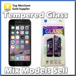 Grand models online shopping - Mix Models Ultra Thin mm H Glass Screen Protector For iPhone s Plus Galaxy S6 S7 Grand Prime G530 LG K7 LS770 stylus opp bags