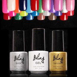 Barato Uv Gel Nail Summer Colors-80 cores Gel de unha Gel De longa duração Soak-off Gel Nail LED UV 6ml / Pcs Summer Semi Permanent Gel Verniz Nail Primer Base Top