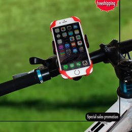 Wholesale Universal Motorcycle CAR Bicycle Bike Handlebar Mount Holder Band For Cell Phone GPS