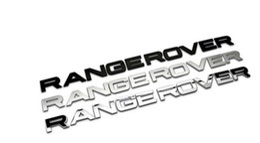 Vente en gros 2015 temps limité réel voiture style avant ou arrière voiture emblème couverture autocollant lettres sport style cas pour accessoires de Range Rover
