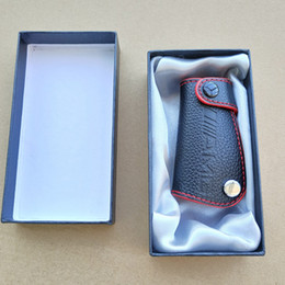 Mercedes key casing online shopping - Genuine Leather AMG LOGO Key Bag Cover Key case Keybag Suitable For Mercedes Benz CLA CLK W124 W140 W163 W202 W204 W210 W211