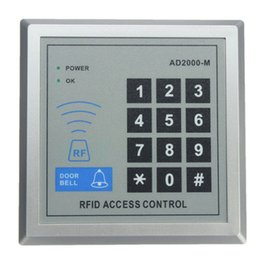 High Security Electronic RFID Proximity Entry Door Lock Access Control Systems Top Quality and Free Shipping from rfid reader rs232 manufacturers