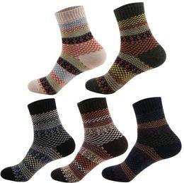 Fashion Warm Socks Cat Animal Printed Women Girl Casual Wool Socks Winter Autumn