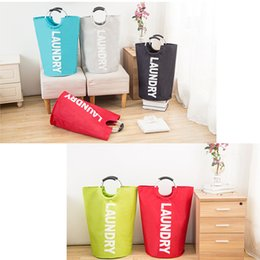 large size collapsible laundry hamper college laundry basket storage bags with handles dorm room accessories 5 colors laundry bags handles deals