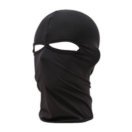 China Wholesale-Best Deal New Unisex Outdoor Cycling Riding Dustproof Breathe Freely Lycra Two Holes Neck Protection Full Face Mask 1pc supplier best rides suppliers