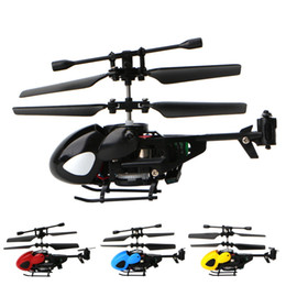 rc helicopter big toys NZ - Mini Rc helicopter 2CH 2.4G remote control helicopter drones electronic toys for boys Children Gift educational toy