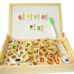 doll draw 2019 - Doll Toys Children Toys Kids Multifunctional Learning Box DX26 Hot Baby Arithmetic Domino and Double-sided Magnetic Draw