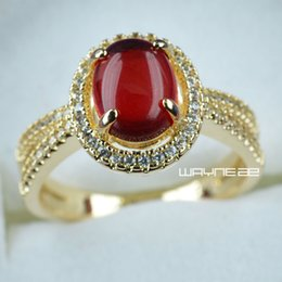 $enCountryForm.capitalKeyWord Canada - Size 7-10 Jewelry Bridal Band 18K Gold Filled Womens Anniversary Rings R286