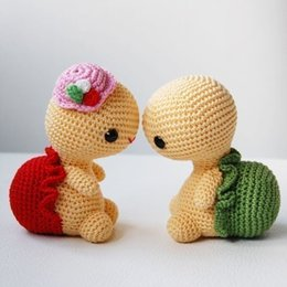 crochet Amigurumi Miss Turtle toy doll rattle from pokemon figures free shipping manufacturers