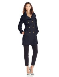 Discount Black Peacoat Women | 2017 Black Peacoat Women on Sale at ...