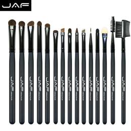 $enCountryForm.capitalKeyWord Australia - Jaf 15 Pcs Pony Hair Eye Shadow Eyebrow Brush Brand Makeup Brushes Professional Cosmetic Kits Make Up Brush Set Maquiagem Je15p