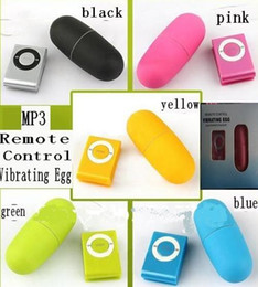 mp3 vibrator eggs Australia - MP3 Remote Wireless Vibrating Egg, 20 Modes women Remote Control Bullet Vibrator, Sex Vibrator, Adult Sex Toys(1set=2pcs)