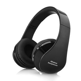 galaxy mic Canada - Cool!! Foldable Wireless Bluetooth Stereo Headset Handsfree Headphones Earphone Earbuds with Mic for iPhone Galaxy HTC