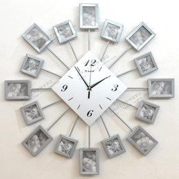 Discount Personalized Photo Wall Clock 2017 Personalized Photo