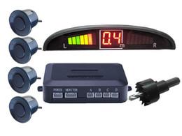 Radar Backup Car Canada - Car LED Parking Sensor Assistance Reverse Backup Radar Monitor System Backlight Display+4 Sensors without retail packing