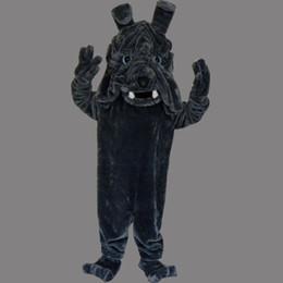 Fancy Grey Dresses NZ - New Super hot bulldog Mascot Costume Fancy Dress EPE