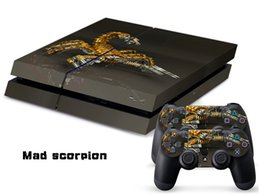 $enCountryForm.capitalKeyWord Canada - Mad scorpion DECAL SKIN PROTECTIVE STICKER for SONY PS4 CONSOLE CONTROLLER