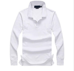 $enCountryForm.capitalKeyWord Canada - Top Custom Made Classic fit Popular men's polos shirts Golf business men Polo shirts long sleeve cotton Pony embroidery Polos Shirts