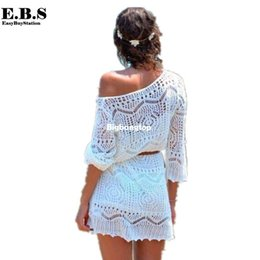Tenues Sexy En Crochet Pas Cher-1510 NEW 2015 Mode Maillots de bain Summer Beach Cover Up Sexy Swimsuit Cover Ups crochet Tenues Beach Dress Bikini Femmes Beachwear couvercle