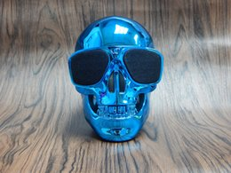 bluetooth mini speaker good sound UK - Easy to Carry Good Sound Smart Multi Color Hifi 100HZ-20KHZ 5w Design Skull Mini Wireless Bluetooth Speakers