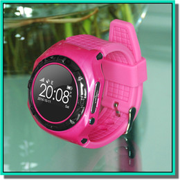 Gsm mobile watches online shopping - Smart watch L20 android ios SOS GSM remote listen recorder mobile smart watches Children positioning smart bracelet free ship
