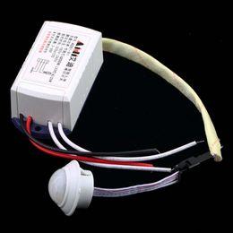$enCountryForm.capitalKeyWord Canada - Wholesale-Free Shipping 1pc Hot Newest 200W 220V IR Infrared Module Body Sensor Switch Intelligent Light Lamps Motion Sensing Switch Hot