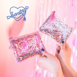 $enCountryForm.capitalKeyWord Canada - Sequins Shell Cosmetic Bag Shiny Travel Cosmetic Case Makeup Pouch Mini Purse