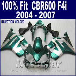 F4i Fairings Australia - ABS Injection molding for HONDA CBR 600 F4i fairings 2004 2005 2006 2007 fairing kits 04 05 06 07 cbr600 f4i +7Gifts JEER
