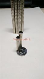 $enCountryForm.capitalKeyWord NZ - 200pcs Neodymium Disc Mini 6X4mm Rare Earth N35 Strong Magnets Craft Models