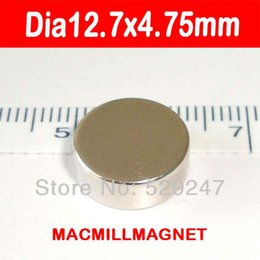 $enCountryForm.capitalKeyWord Canada - Free Shipping, 10pcs pack, dia12.7x4.75mm Whole Sales Brand New Disc Rare-earth Neodymium Strong Permanent Magnet