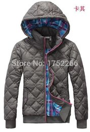 $enCountryForm.capitalKeyWord Australia - Wholesale-Free shipping winter NEW brand women hooded brought unginned cotton sports coat fashion cotton-padded jacket