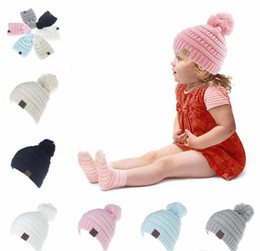 $enCountryForm.capitalKeyWord NZ - baby cap CC Trendy Beanie CC Knitted Hats Chunky Skull Caps Winter Cable Knit Slouchy Crochet Hats Fashion Outdoor Warm Oversized Hats
