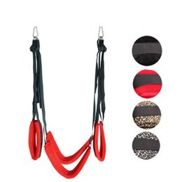 RestRaint sex swing online shopping - Nylon Webbing Swing Sex Toys For Couples Sex Straps Restraint Fetish Bondage Sex Products Adult Games For Couples