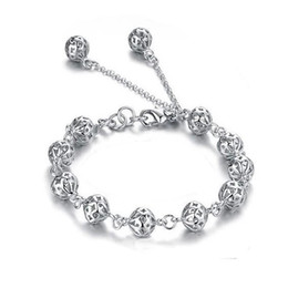 track days 2019 - Free Shipping with tracking number Top Sale 925 Silver Bracelet Sweet thread Bracelet Silver Jewelry 20Pcs lot 1507 chea