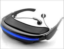 Envío gratis VG280 pixel tv cinema LCD Video Glasses HD 52 pulgadas pantalla virtual Video de apoyo Music Picture e-book USB Built in 4GB