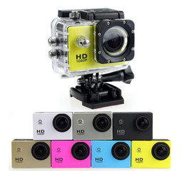 inch meters Canada - 50PCS SJ4000 freestyle 2-inch LCD 1080P Full HD HDMI action camera 30 meters waterproof DV camera sports helmet SJcam DVR00 Free send DHL