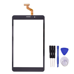 Screen Repairs For Tablets UK - Wholesale- New 8 inch Black Touch Screen for TEXET X-pad NAVI 8.2 3G TM-7859 Tablet Digitizer Replacement with Free Repair Tools