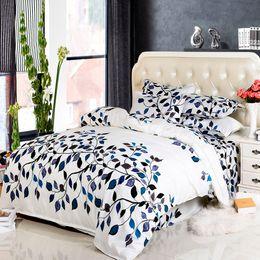 Extra long shEEts online shopping - DY home bedding set polyester duvet cover flat sheet pillowcase bedding