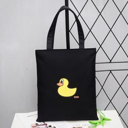 $enCountryForm.capitalKeyWord Canada - new mini handbag small size shoulder bag Cartoon fashion Printed canvas bag Shopping Bag free shipping