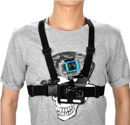 Camera Shoulder Strap Australia - 100PCS Accessories Harness Adjustable Elastic Shoulder Chest Strap for Hero 4 3 3+ 2 SJ4000 SJ5000 Xiaomi yi Sport Camera