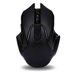 wireless for laptop 2018 - Wholesale- 2017 HOT SALE 6 Keys 3200DPI 2.4GHz Wireless Optical Professional Gaming Mouse Mice For Computer Mouse PC Lap